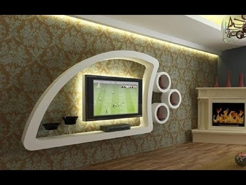 Modern Tv Cabinets Designs With Well Known Latest Tv Cabinet Designs For Modern Living Room Interior 2018 – Youtube (View 11 of 20)