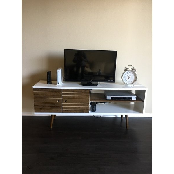 Modern Tv Entertainment Centers For Favorite Shop Carson Carrington Sortland Wooden Modern Tv Stand – On Sale (View 19 of 20)