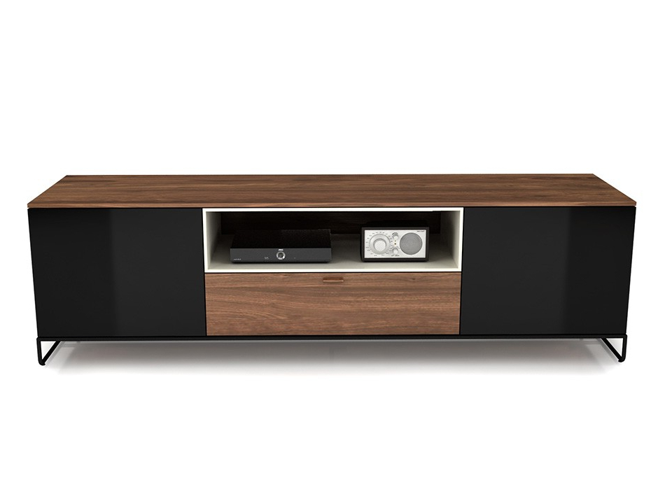 Modern Tv Stand Lineaup Huppe Canada – Tv Stands – Living Room With Fashionable Smoked Glass Tv Stands (View 10 of 20)