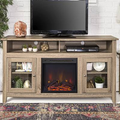 "Modern Tv Stands For 60 Inch Tvs Inside Popular Zipcode Design Kohn Tv Stand For Tvs Up To 60"" With Fireplace (View 5 of 20)"