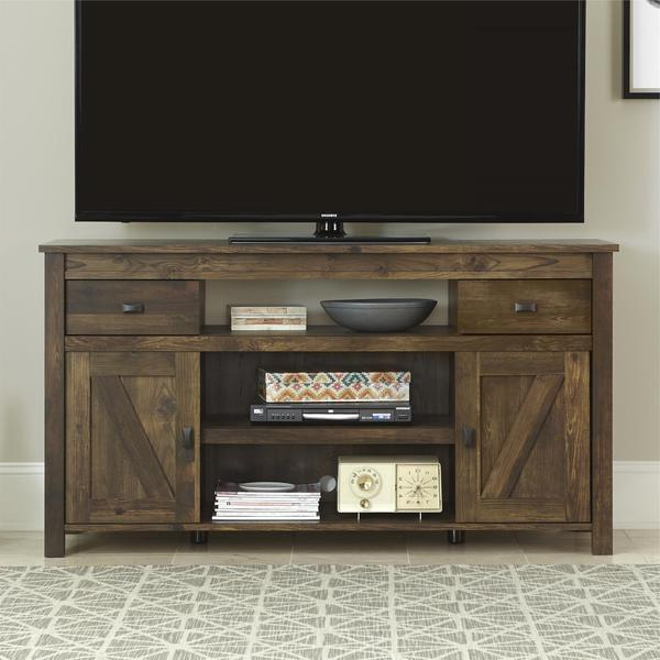 Modern Tv Stands For 60 Inch Tvs Intended For Well Liked Shop The Gray Barn Latigo 60 Inch Tv Stand – Free Shipping Today (View 7 of 20)