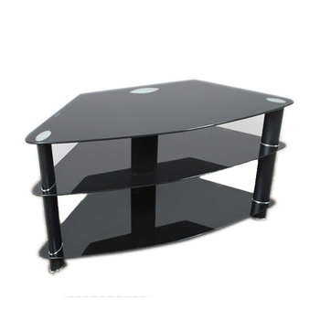 Modern Tv Unit,tv Cabinet,black Cheap Glass Metal Tv Stand – Buy With Regard To Widely Used Very Cheap Tv Units (View 6 of 20)
