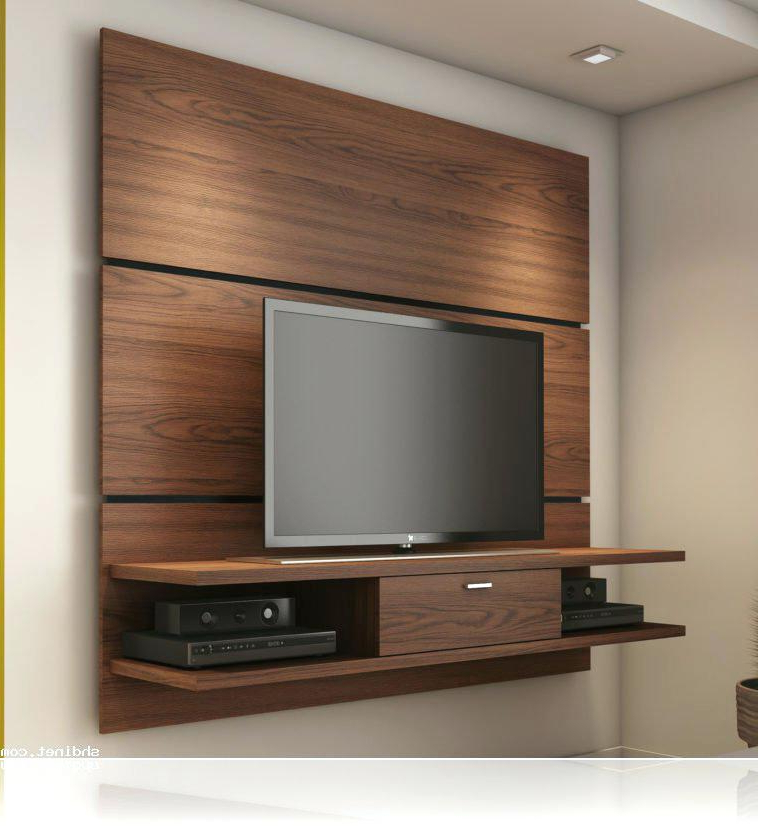 Modern Wall Mount Tv Stands With Regard To Recent Wall Mount Stands With Shelf Chic And Modern Wall Mount Ideas Wall (View 9 of 20)