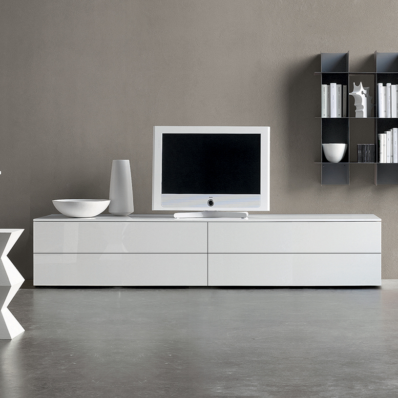 Modern White Gloss Tv Stands Inside Newest Modern Tv Units (View 19 of 20)