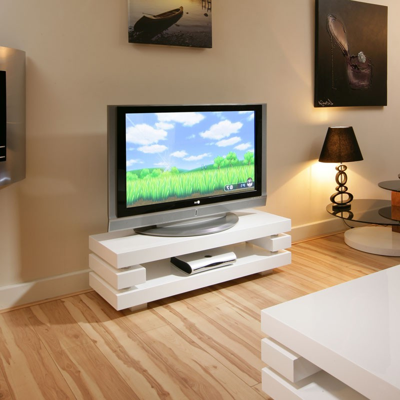 Modern White Gloss Tv Stands With Latest Modern Designer Tv Cabinet / Stand White Gloss Stunning Ag (View 10 of 20)