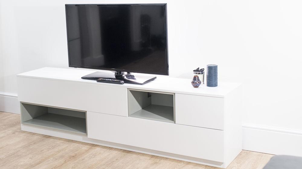 Modern White Oak Tv Unit (View 18 of 20)