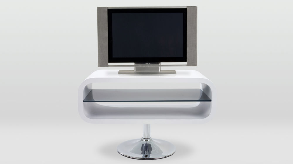 Modern White Tv Stand (Gallery 9 of 20)