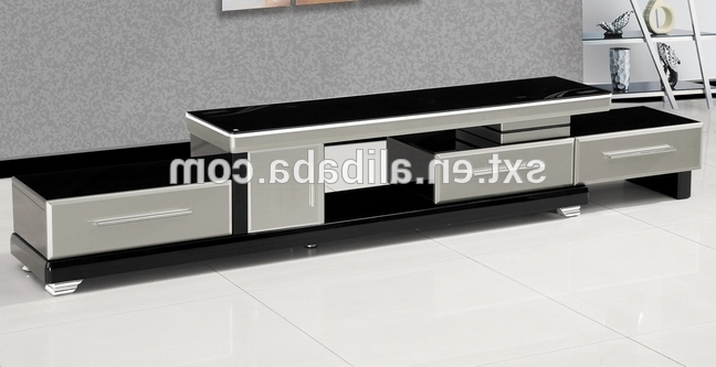 Modern Wooden Tv Stands With Regard To Trendy Hot Selling Modern Extensible Design Wood Tv Stand – Buy Wood Tv (View 11 of 20)