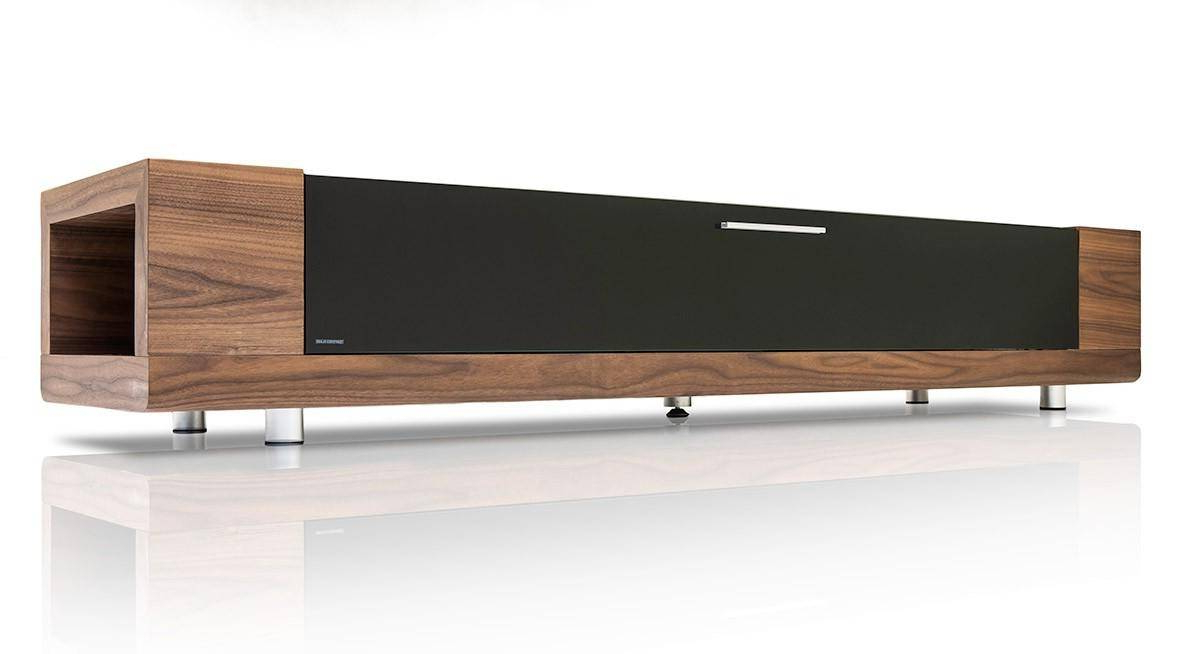 Modrest Marcus Modern Walnut Veneer Tv Stand (Vgkcgbd005W) Buy Online! Throughout Most Up To Date Modern Walnut Tv Stands (View 7 of 20)
