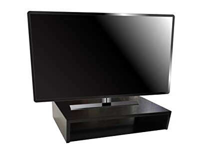 "Most Current Amazon: Tabletop Tv Stand 25""(W) X 14""(D) X 5""(H) (Black Pertaining To Tabletop Tv Stands (Gallery 15 of 20)"