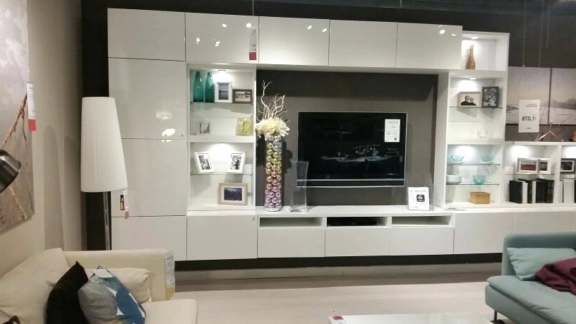 Most Current Besta Tv Stand Home Interior Design Unit New Wall Unit Gloss White Pertaining To Ikea White Gloss Tv Units (View 16 of 20)
