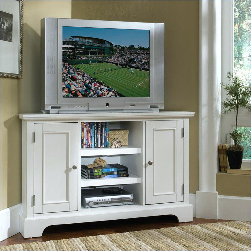 Most Current Corner Tv Cabinets For Flat Screens With Highboy Corner Tv Stand Stunning White Corner Stands For Flat (View 8 of 20)