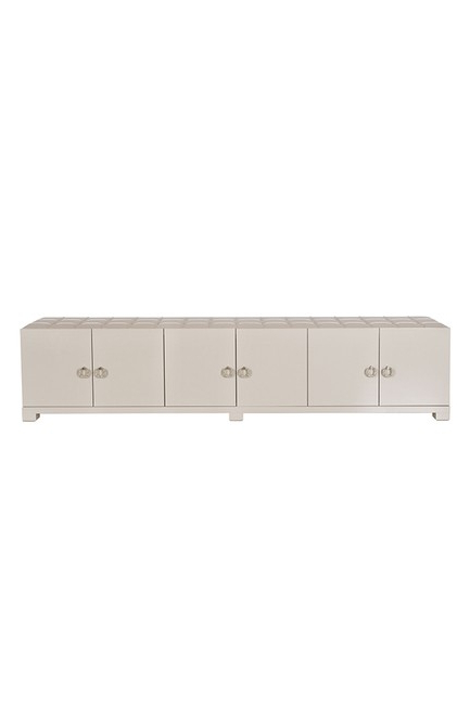 Most Current Cream High Gloss Tv Cabinets Throughout Tiffany High End Cream Gloss And Leather Sideboard / Tv Unit (View 11 of 20)