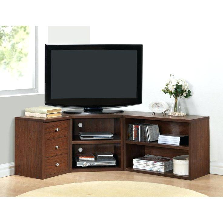 Most Current Dark Brown Corner Tv Stands With Regard To Corner Units Tv Stand Kitchen Appealing Corner Unit Stand Stands (View 15 of 20)