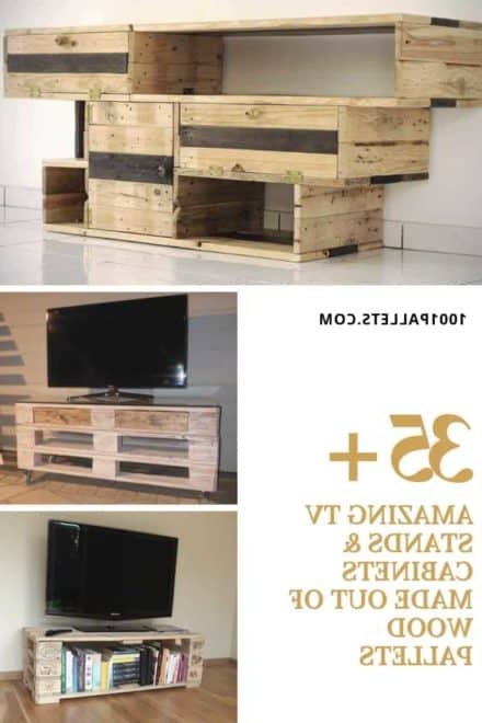 Most Current Diy Tv Stand: Ideas And Tips From 1001Pallets Throughout Tv Stands And Cabinets (View 8 of 20)