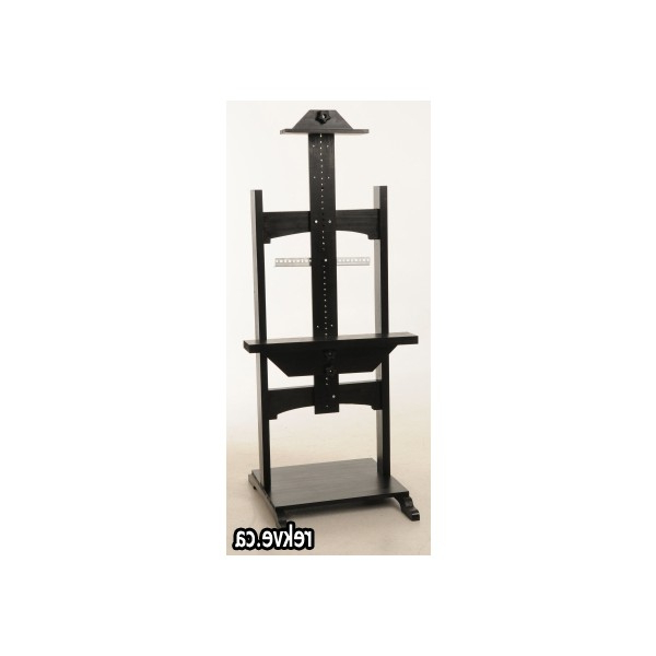 Most Current Easel Tv Stands For Flat Screens Pertaining To Lcd Led Plasma Stand Easel Flat Panel Screen Tv Stand Easel (View 15 of 20)