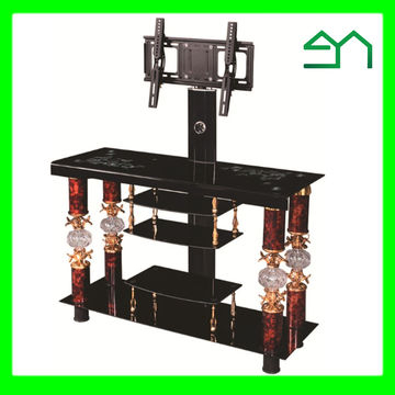 Most Current Fancy Tv Stands For China Best Selling Products Fancy Glass Tv Stand With Competitive (View 11 of 20)
