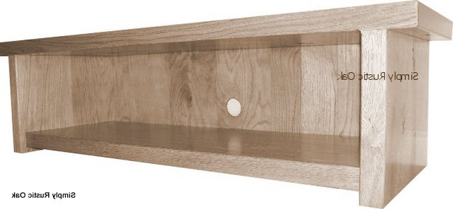 Most Current Handmade Rustic Oak Low Tv Stands – Simply Rustic Oak Pertaining To Low Oak Tv Stands (Gallery 2 of 20)