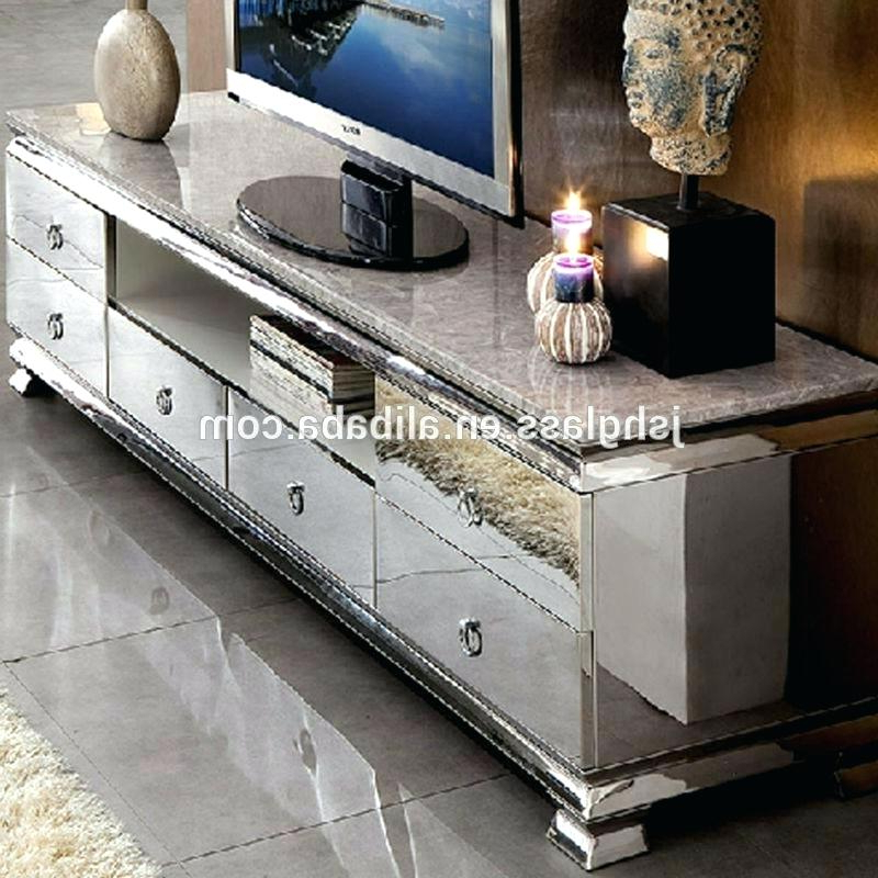 Most Current Mirrored Tv Cabinets Throughout Remarkable Mirrored Tv Cabinet Living Room Furniture Medium Size Of (View 18 of 20)