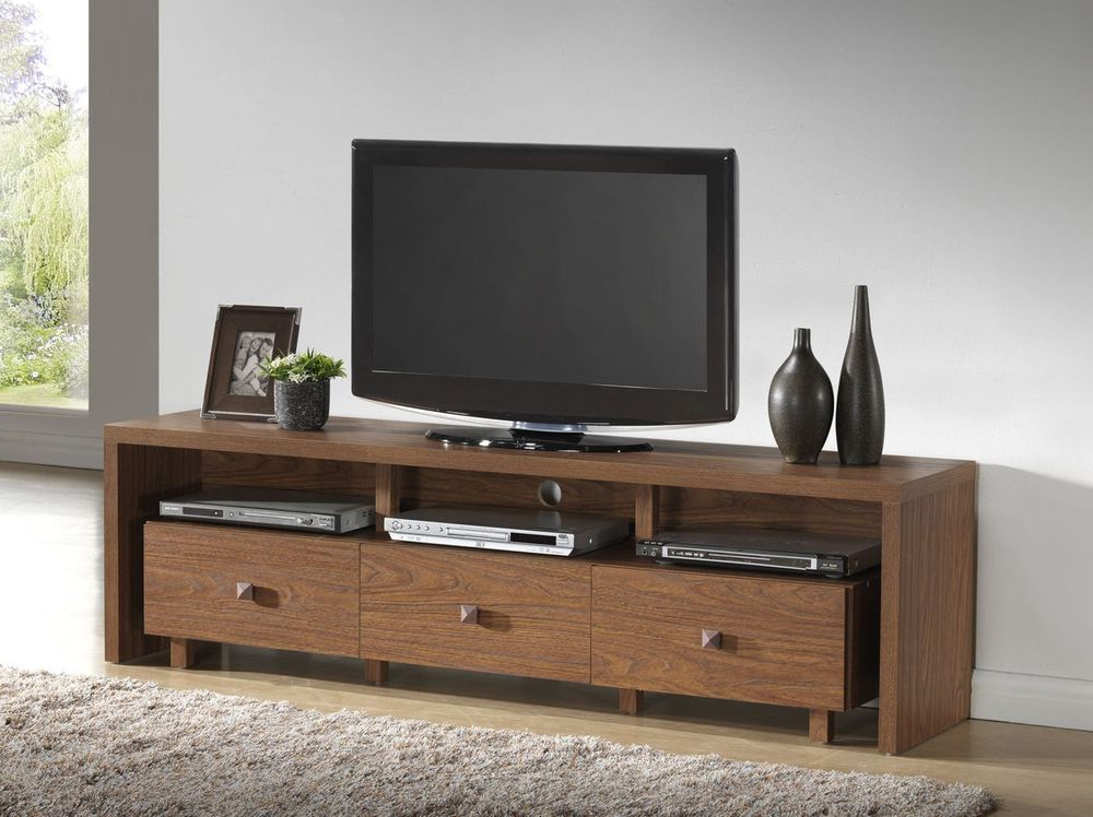 "Most Current Modern Tv Stands For Flat Screens In Tv Stand Entertainment Center 70"" Flat Screen Wood Media Storage (View 16 of 20)"