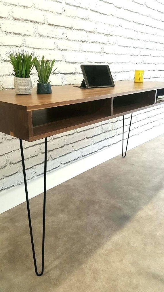 Most Current Natural Wood Mirrored Media Console Tables Inside Affordable Modern Stands Natural Wood Mirrored Media Console (View 7 of 20)