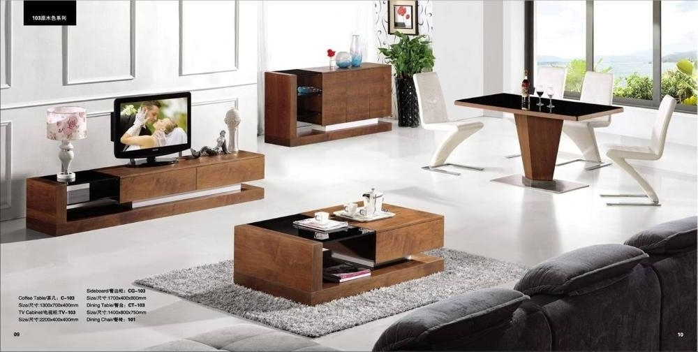 Most Current Tv Unit And Coffee Table Sets In Interesting Modern Living Room Furniture Set Coffee Table Tv Stand (View 8 of 20)