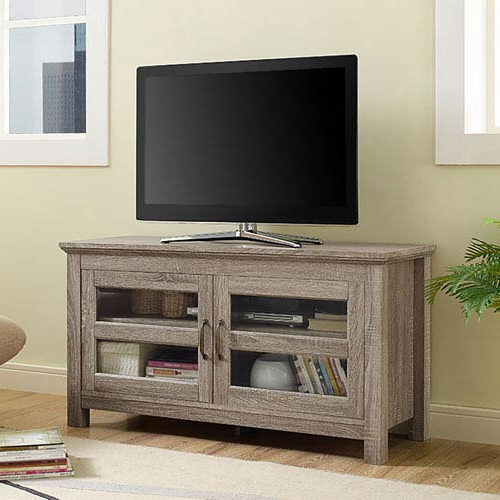 Most Current Wood Tv Stand With Glass Intended For Walker Edison Furniture Co (View 5 of 20)