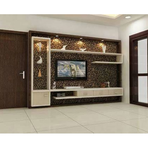 Most Current Wooden Tv Cabinets With Regard To Wooden Tv Cabinet At Rs 35000 /unit (View 8 of 20)