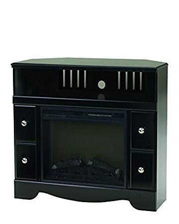 Most Popular Amazon: Ashley Furniture Signature Design – Shay Corner Tv Stand In Unique Corner Tv Stands (View 7 of 20)