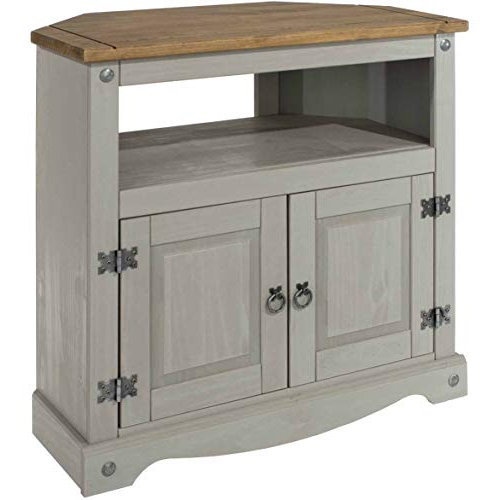 Most Popular Black High Gloss Corner Tv Unit Throughout Tv Unit Grey: Amazon.co (View 14 of 20)