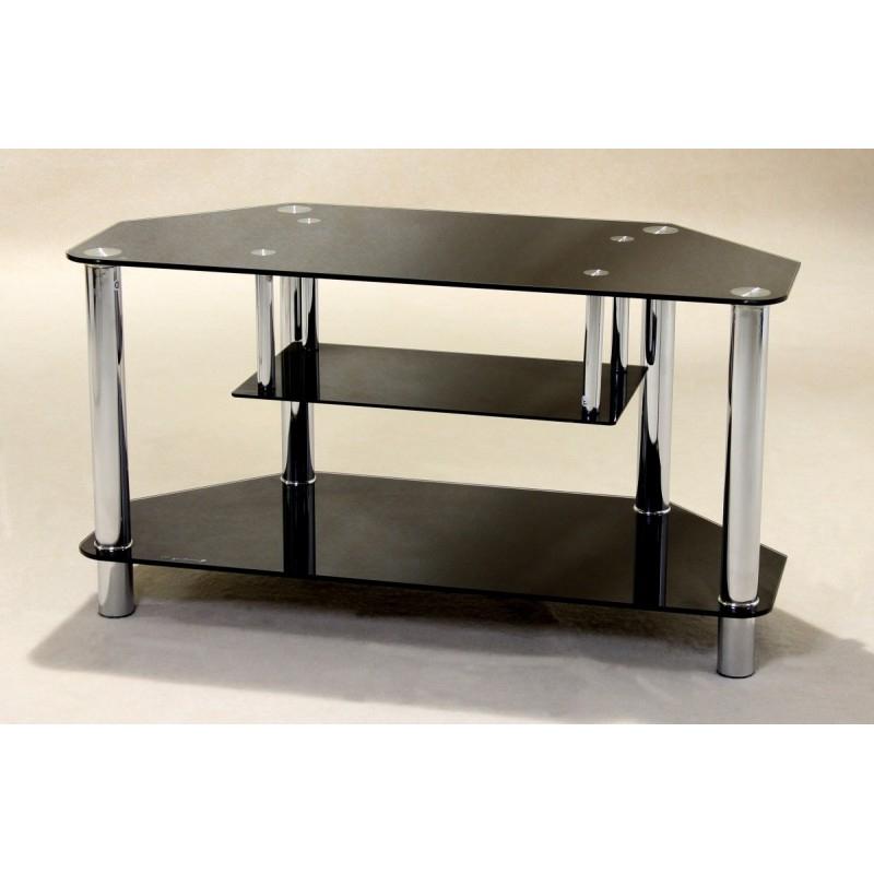 Most Popular Clio Black Glass Tv Unit – Brixton Beds Regarding Black Glass Tv Cabinets (Gallery 11 of 20)