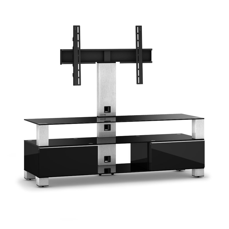 Most Popular Connected Essentials Ltd Cantilever Tv Stand For Tvs Up To 60 Intended For Tv Stand Cantilever (View 7 of 20)