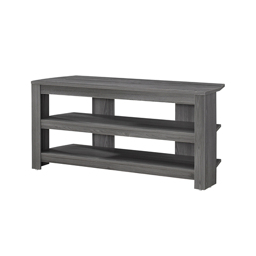 "Most Popular Grey Corner Tv Stands With Regard To Tv Stand – 42""l / Grey Corner : Tv Stands – Best Buy Canada (View 9 of 20)"