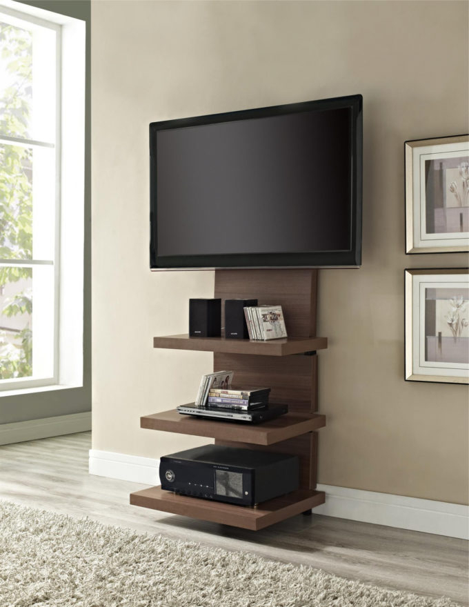 Most Popular Ideas: Elegant Tall Tv Stands For Flat Screens For Your House With Tall Tv Stands For Flat Screen (View 7 of 20)