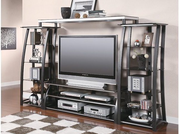 Most Popular Industrial Metal Tv Stands With Industrial Metal Tv Stand – On The Go Living (View 19 of 20)