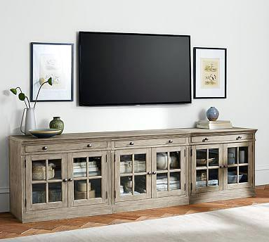 Most Popular Long Tv Stands Regarding Long Tv Stand Throughout Chic Stands Furniture White And Idea 18 (Gallery 7 of 20)