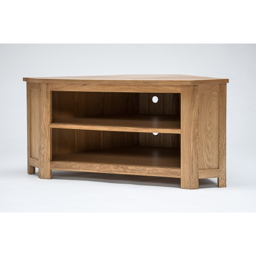 Most Popular Low Corner Tv Cabinets For Lansdown Oak Low Corner Tv Cabinet (View 15 of 20)