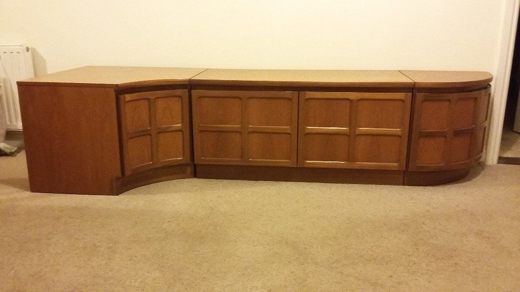 Most Popular Low Level Storage Unit With Tv Stand (View 8 of 20)