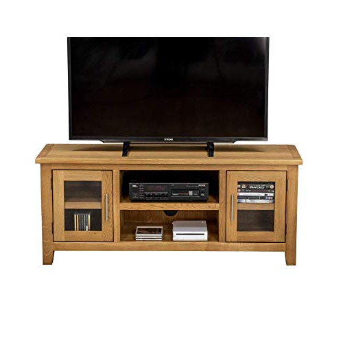 Most Popular Oak Tv Stands: Amazon.co (View 16 of 20)