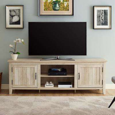 Most Popular Oak Tv Stands Regarding Oak – Tv Stands – Living Room Furniture – The Home Depot (View 10 of 20)