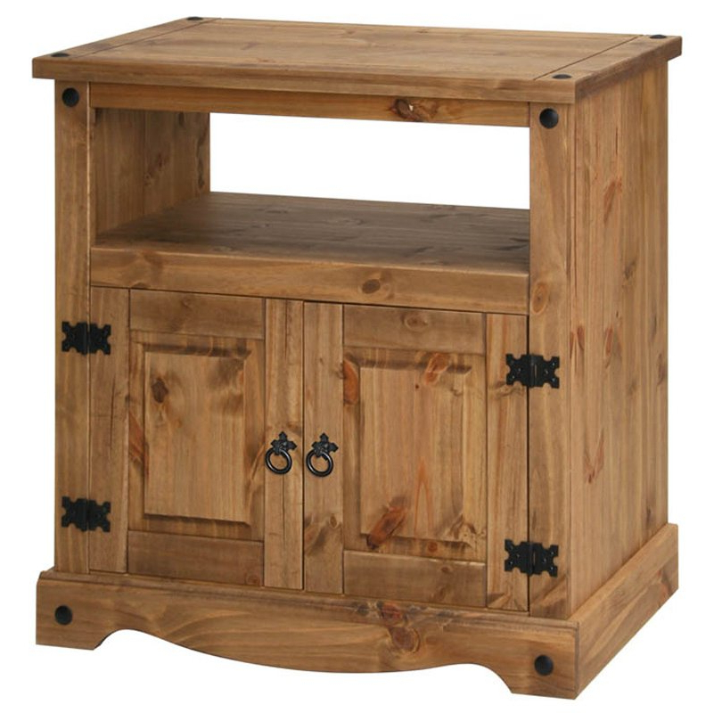 Most Popular Pine Tv Cabinets Within Core Products Cr909 Tv Stands (View 7 of 20)