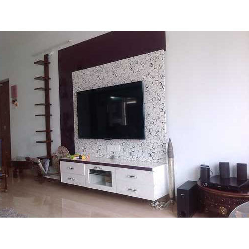 Most Popular Square Tv Stands Regarding Wooden Tv Stand Unit At Rs 1000 /square Feet (View 9 of 20)