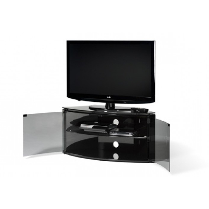 "Most Popular Techlink Tv Stands Within Techlink Corner Cabinet – Push Glass Doors Up To 42"" B6B (View 7 of 20)"