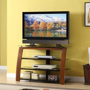 Most Popular Tv Stands For Tube Tvs Inside Amazon: Whalen Furniture Tv Stand For Flat Panel Tvs Up To  (View 10 of 20)