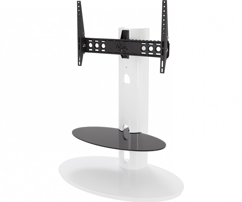 Most Popular White Oval Tv Stands Throughout Fsl93Chexgw: Affinity Plus – Chepstow Oval Pedestal Tv Stand (View 9 of 20)