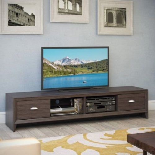 Most Recent 80''tv Stand Entertainment Center Media Console Extra Long Cabinet Within Extra Long Tv Stands (View 15 of 20)