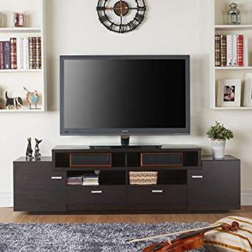 Most Recent Amazon: Furniture Of America Stockton Multi Storage Tv Stand In Storage Tv Stands (View 10 of 20)