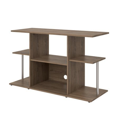 Most Recent Amazon: Mainstays Unique Entertainment Tv Stand Cabinet Console With Regard To Unique Tv Stands For Flat Screens (View 17 of 20)