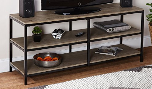 Most Recent Amazon: Target Marketing Systems Piazza Collection Modern Inside Modern Wooden Tv Stands (View 14 of 20)