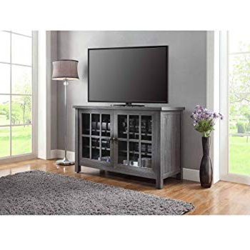 """Most Recent Amazon: We Furniture 52"""" Wood Highboy Style Tall Tv Stand Pertaining To Oxford 70 Inch Tv Stands (View 11 of 20)"""